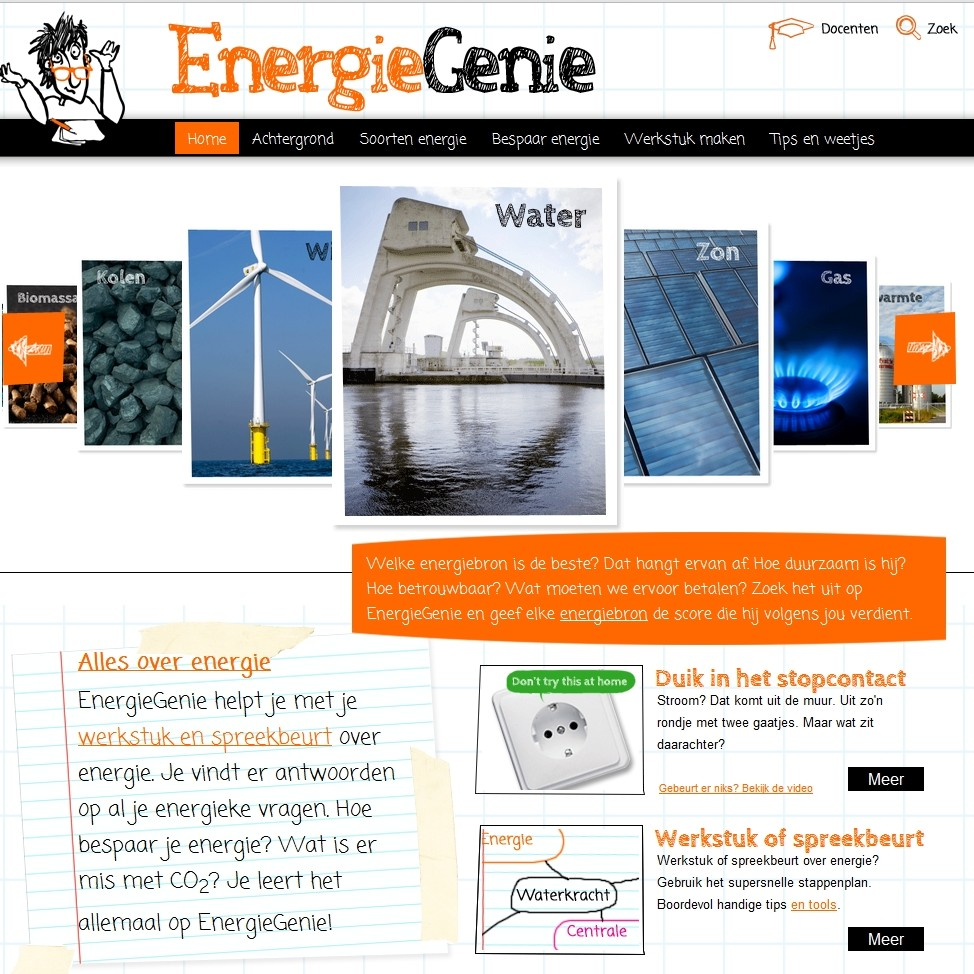 auteur educatieve website EnergieGenie
