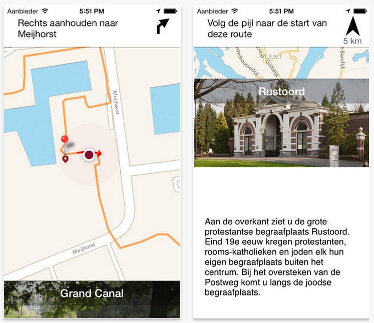 Tekstschrijver Ommetjes app Nijmegen